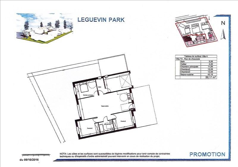 Vente maison / villa Leguevin 272000€ - Photo 2