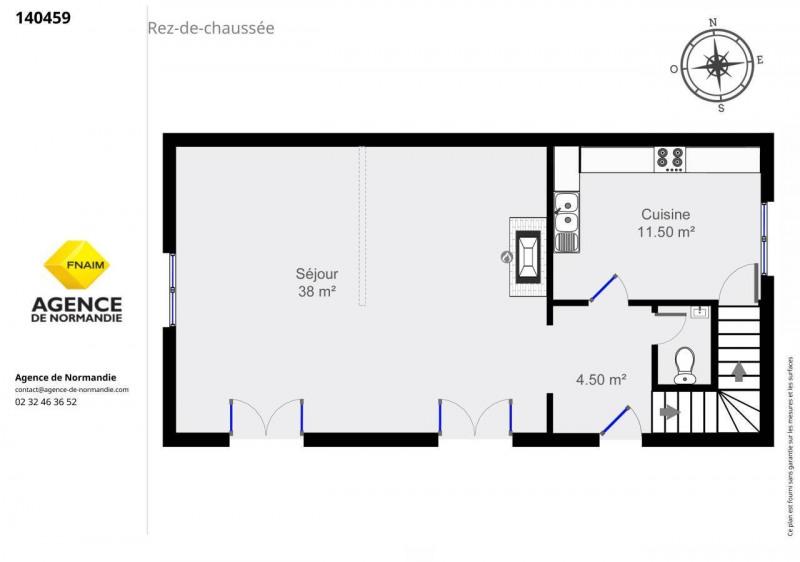 Vente maison / villa Montreuil-l'argille 140000€ - Photo 6