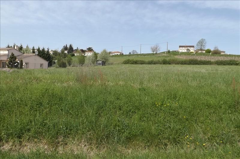 Vente terrain Villefranche de lonchat 23000€ - Photo 2