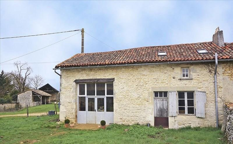 Vente maison / villa Civray 60 000€ - Photo 1