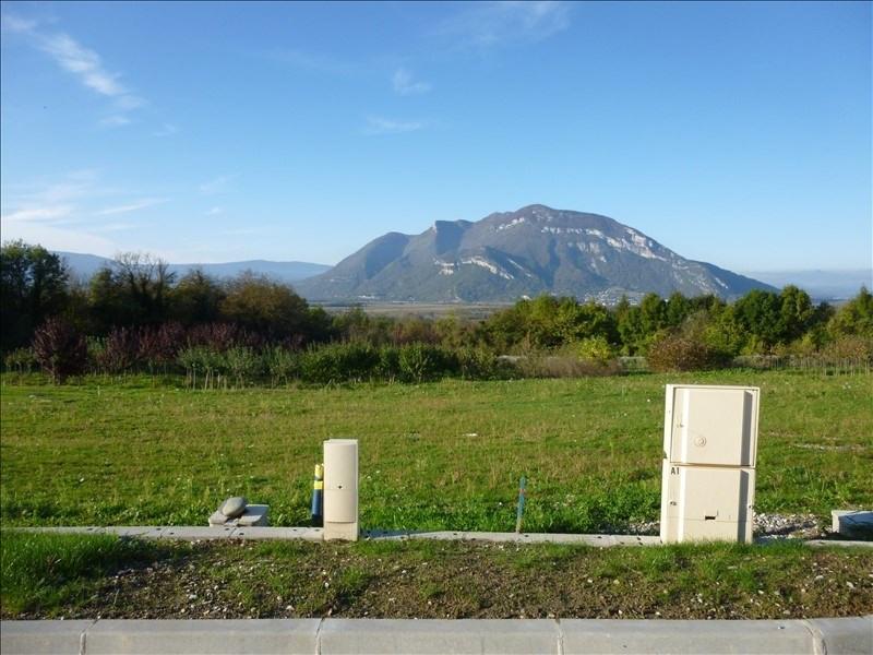 Vente terrain Chanaz 111500€ - Photo 1