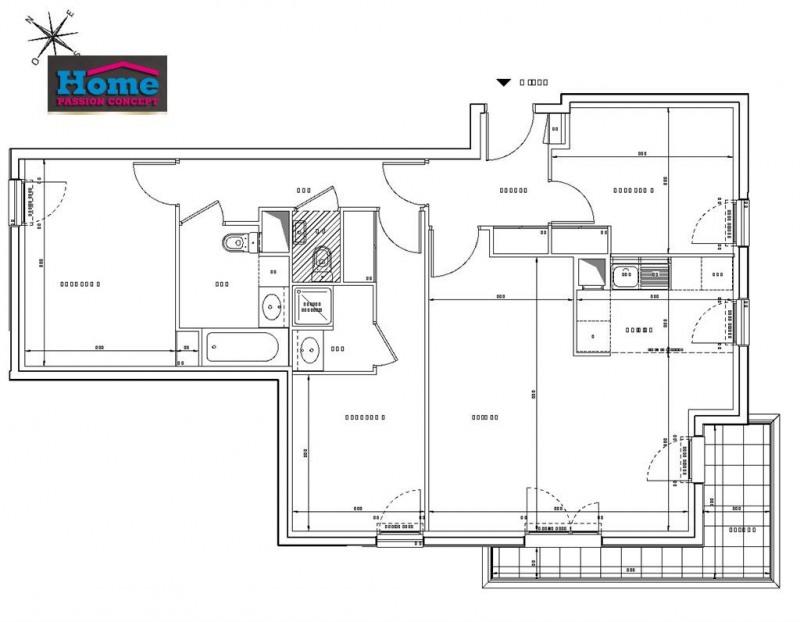 Sale apartment Rueil malmaison 598000€ - Picture 2