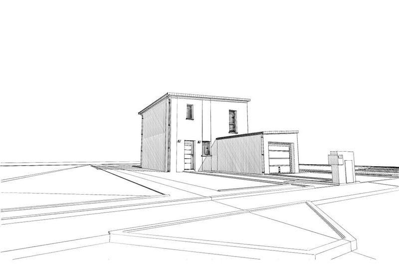Maison  4 pièces + Terrain 245 m² Carquefou (44470) par ESPACE HABITAT