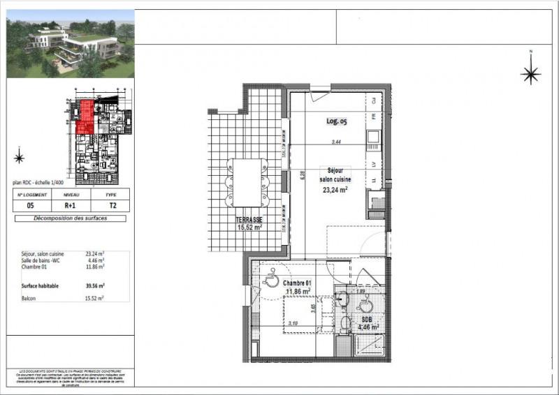 Sale apartment L isle d abeau 136500€ - Picture 3