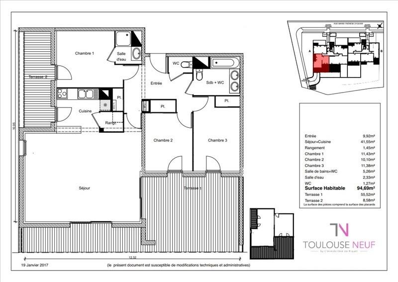 Vente appartement Ramonville saint agne 304900€ - Photo 8