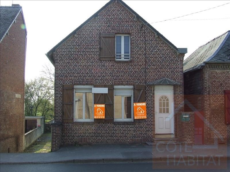 Sale house / villa La capelle 75600€ - Picture 1