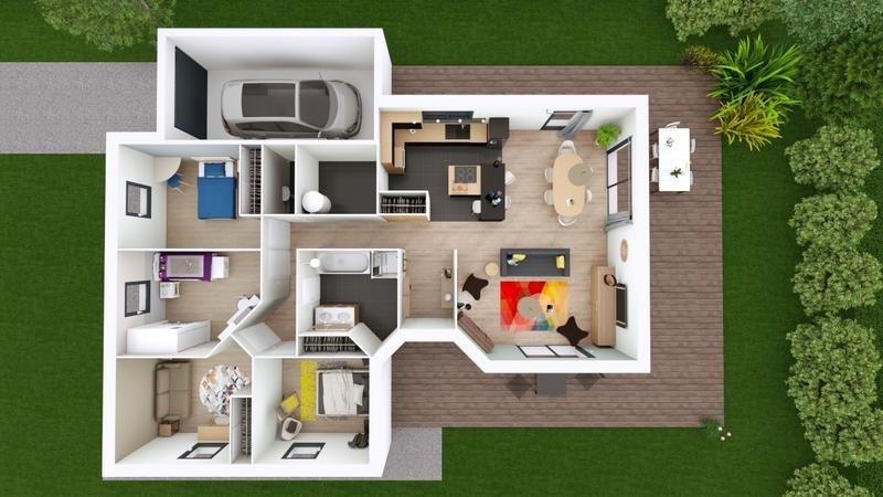 Maison  5 pièces + Terrain 1000 m² Effiat par ELAN AUVERGNE