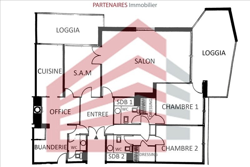 Vente appartement Le chesnay 549 000€ - Photo 10
