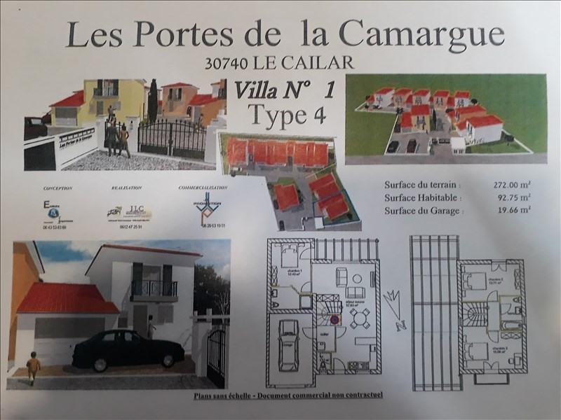 Venta  casa Le cailar 215000€ - Fotografía 1