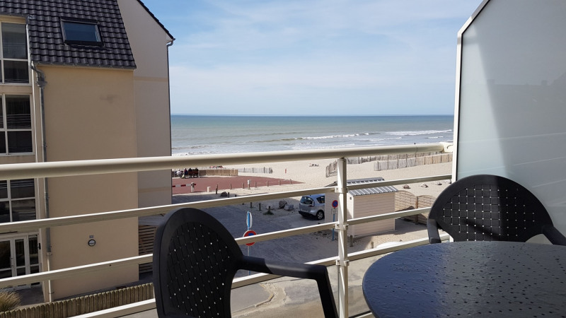 Vacation rental apartment Fort mahon plage  - Picture 1