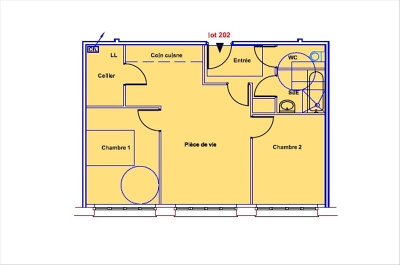 Deluxe sale apartment Soissons 53100€ - Picture 4