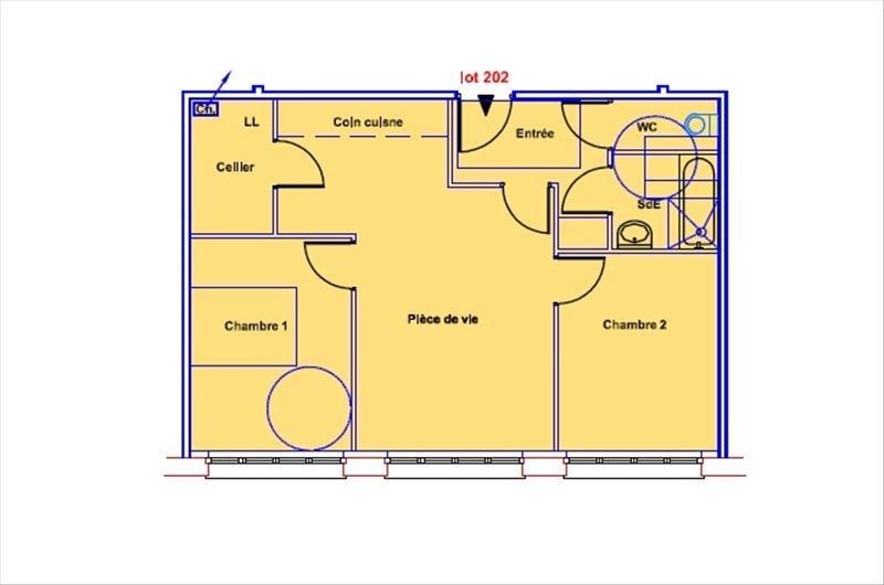 Vente de prestige appartement Soissons 53100€ - Photo 4