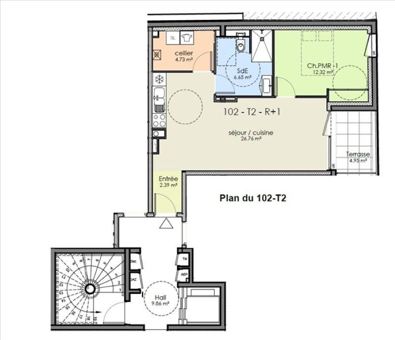 Vente appartement Niort 147055€ - Photo 2