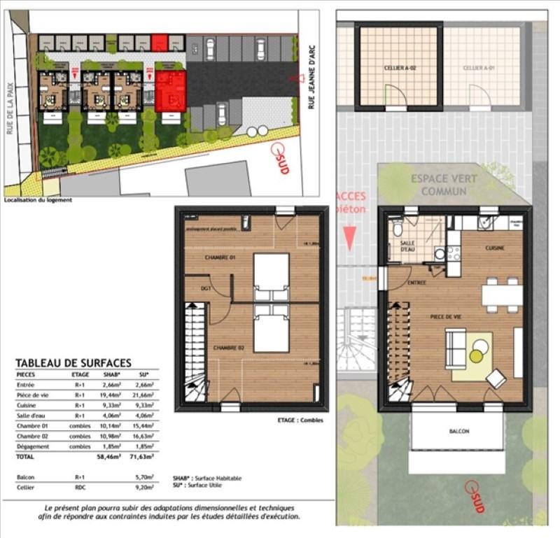 Produit d'investissement appartement Elven 155000€ - Photo 1