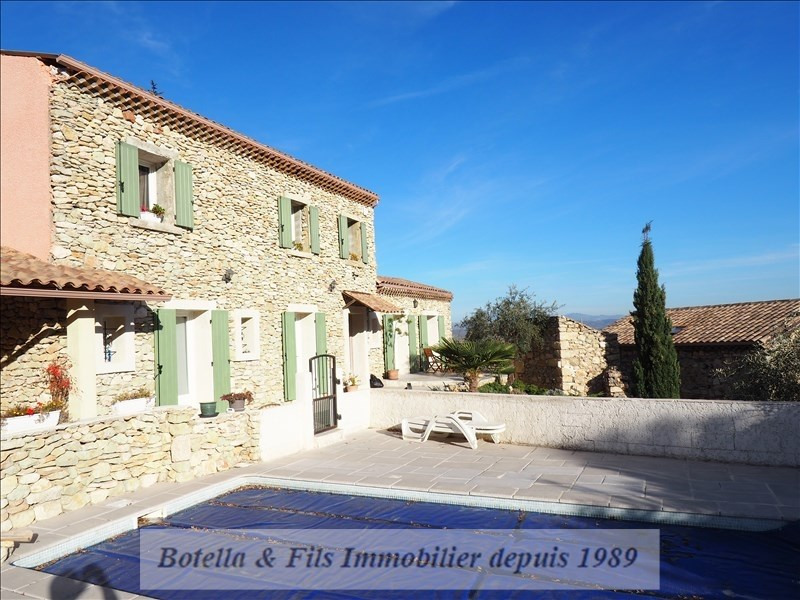 Deluxe sale house / villa St just d ardeche 780 000€ - Picture 9