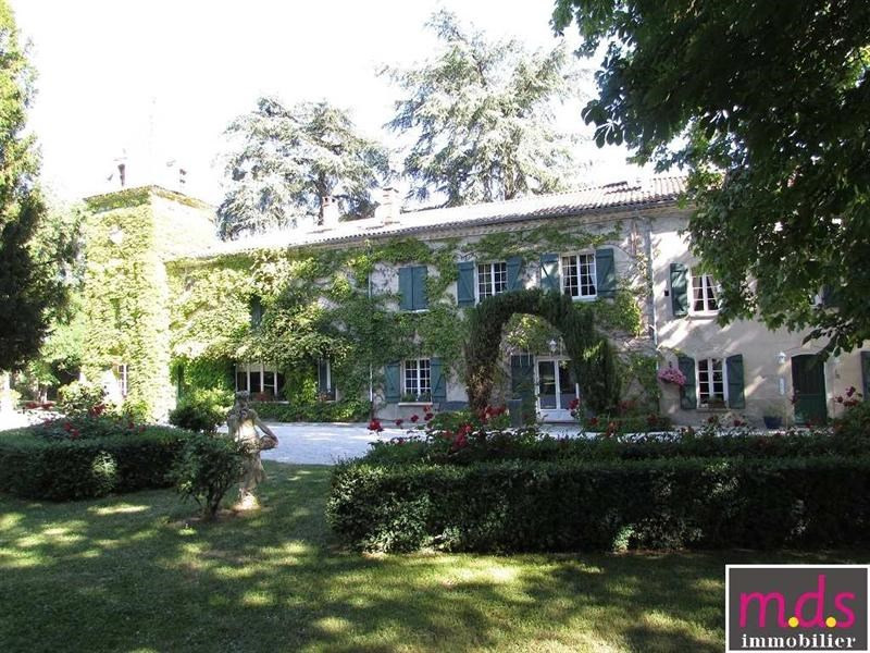 Deluxe sale chateau Toulouse 45 mn 1134000€ - Picture 1