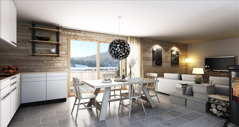 Vente de prestige maison / villa Morzine 980000€ - Photo 1