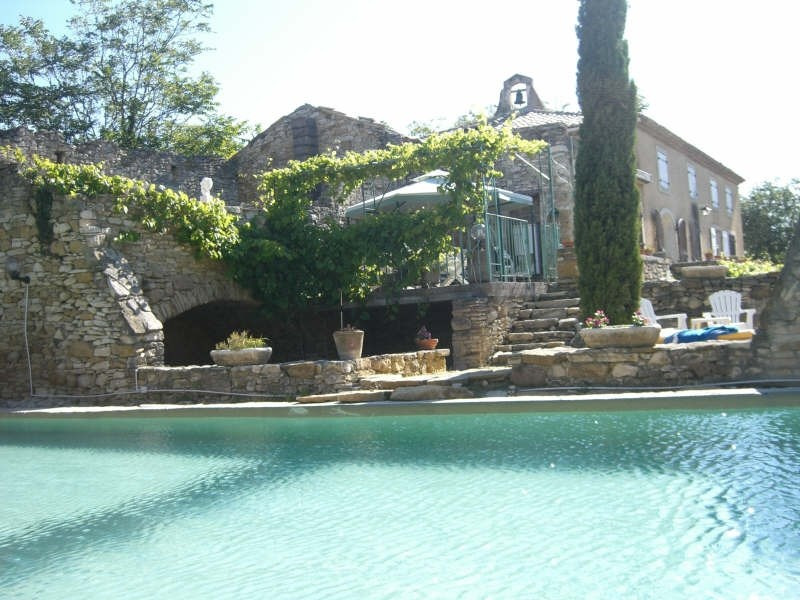 Deluxe sale house / villa Goudargues 630000€ - Picture 2