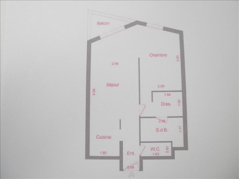 Vente appartement Paris 13ème 362250€ - Photo 2