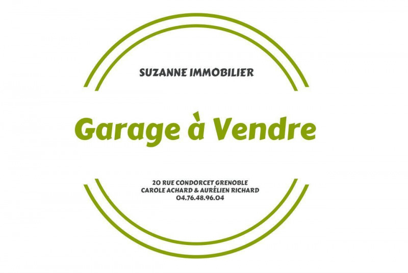 Sale parking spaces Grenoble 13 500€ - Picture 1