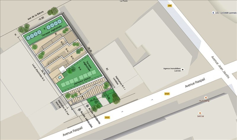 Vente local commercial Gentilly 347000€ - Photo 3