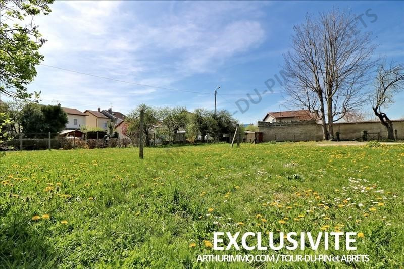 Vente terrain La tour du pin 55 000€ - Photo 1