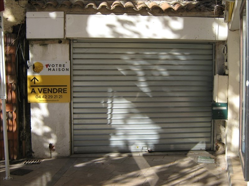 Vente local commercial Trets 78 000€ - Photo 1