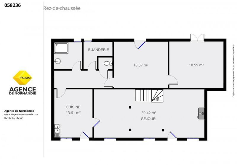 Sale house / villa La ferte-frenel 55000€ - Picture 2