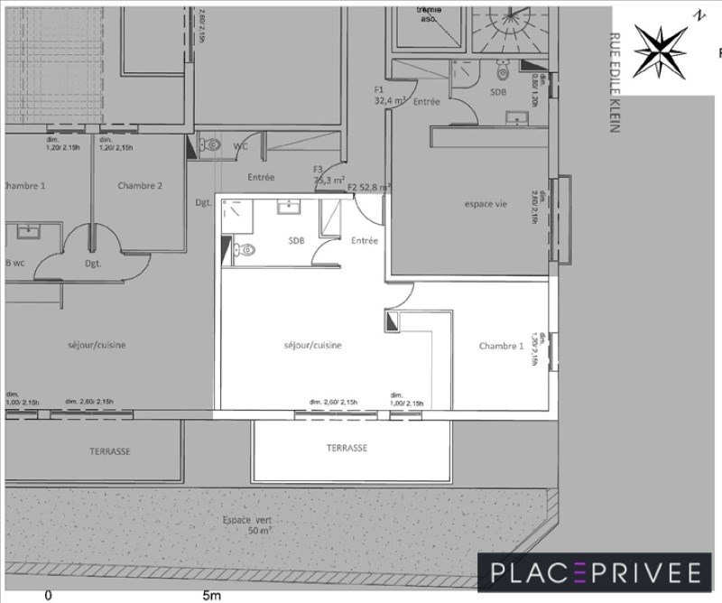 Vente appartement Nancy 164000€ - Photo 4