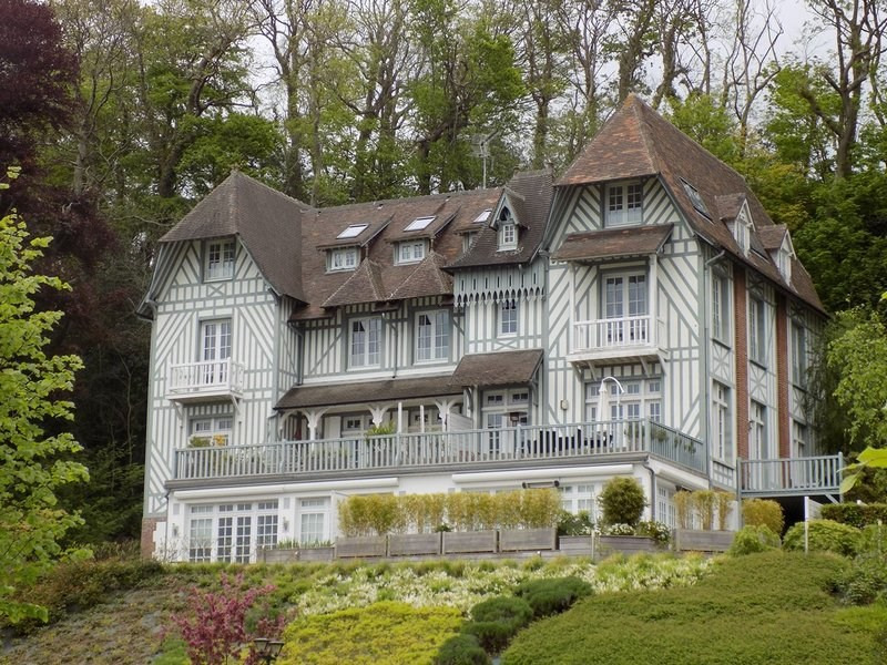 Verkoop  appartement Trouville sur mer 288000€ - Foto 1