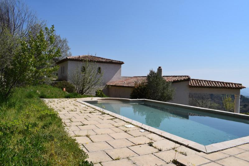 Revenda residencial de prestígio casa Seillans 630000€ - Fotografia 1