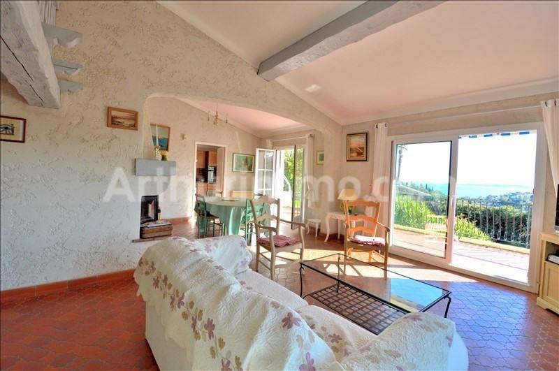 Vente de prestige maison / villa Les issambres 729750€ - Photo 1