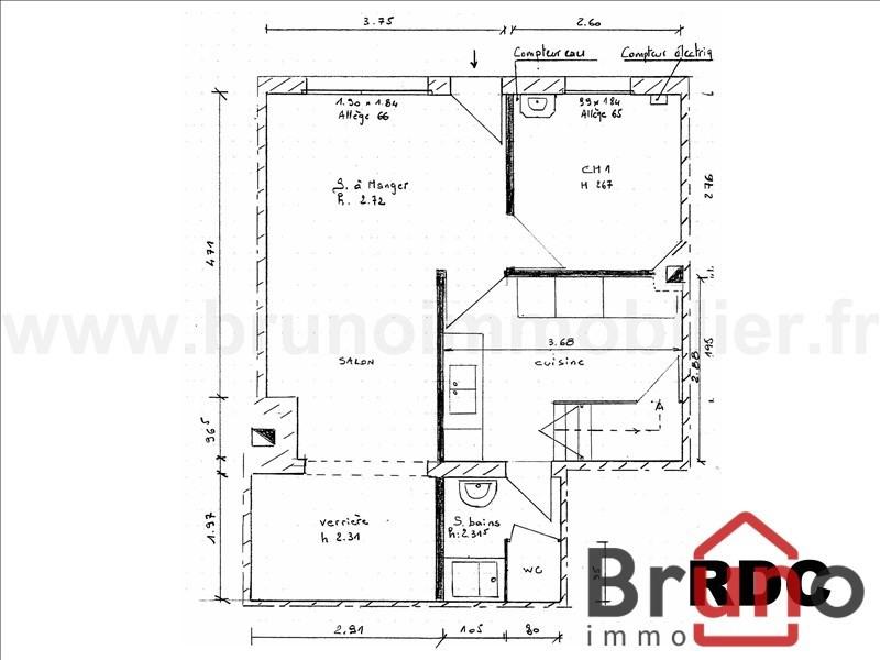 Vente maison / villa Le crotoy 165000€ - Photo 3