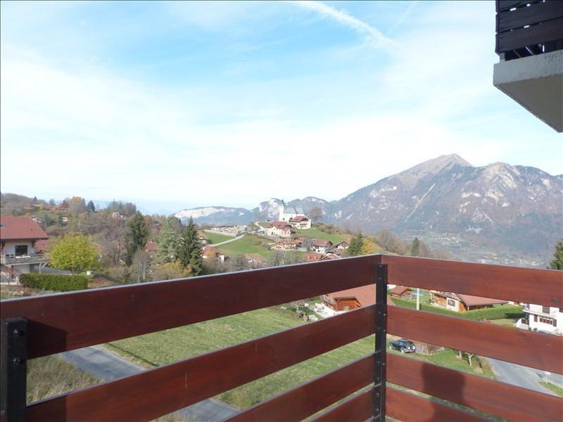 Sale apartment Mont saxonnex 133800€ - Picture 1
