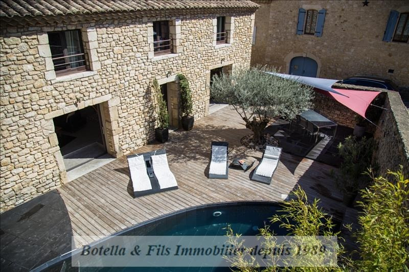 Deluxe sale house / villa Uzes 510 000€ - Picture 1