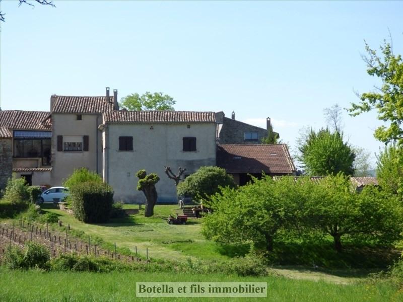 Vente maison / villa Barjac 299000€ - Photo 1