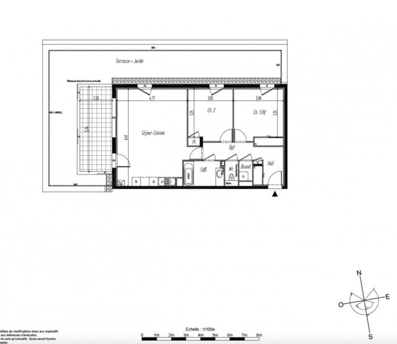 Vente Appartement 3 pièces 71m² Tassin-la-Demi-Lune