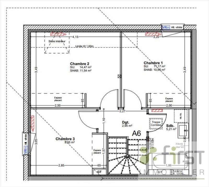Vente maison / villa Reignier-esery 347500€ - Photo 4
