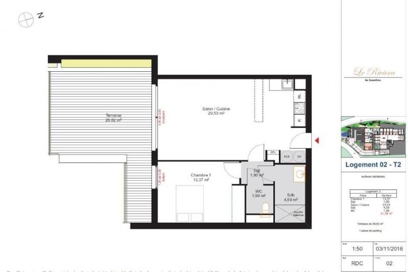 Vente appartement Les issambres 440000€ - Photo 16
