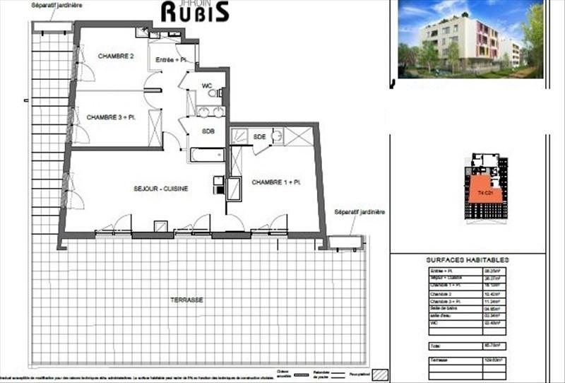 Vente appartement Montpellier 195500€ - Photo 7