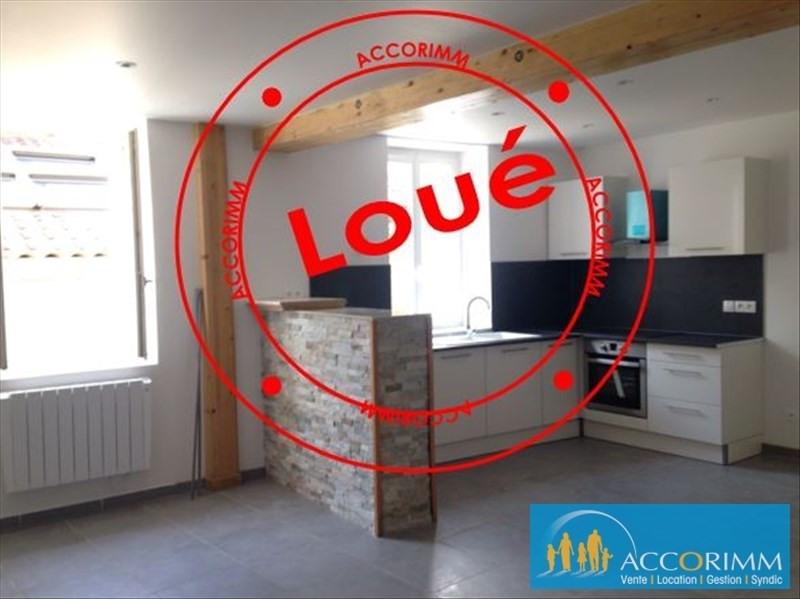 Rental apartment St symphorien d ozon 815€ CC - Picture 1