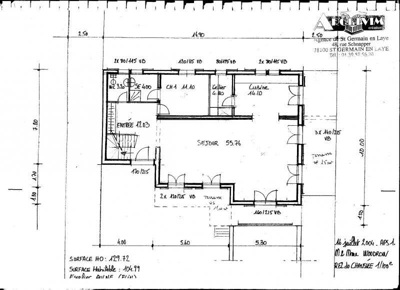 Sale house / villa Orgeval 665000€ - Picture 7