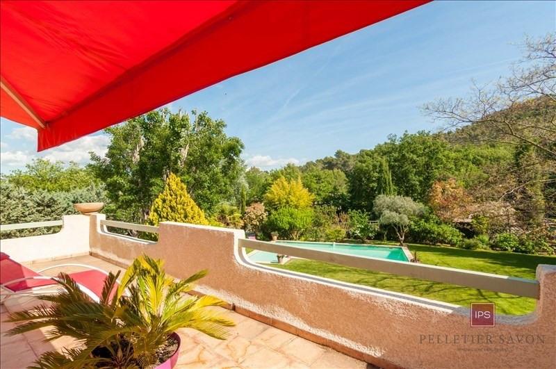 Vente de prestige maison / villa Le puy ste reparade 630000€ - Photo 3