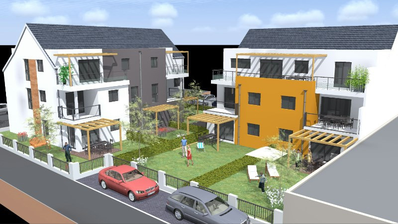 Villas arbogast programme immobilier neuf haguenau for Mon projet immobilier neuf