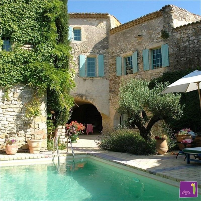 Vente de prestige maison / villa Uzes 663000€ - Photo 1
