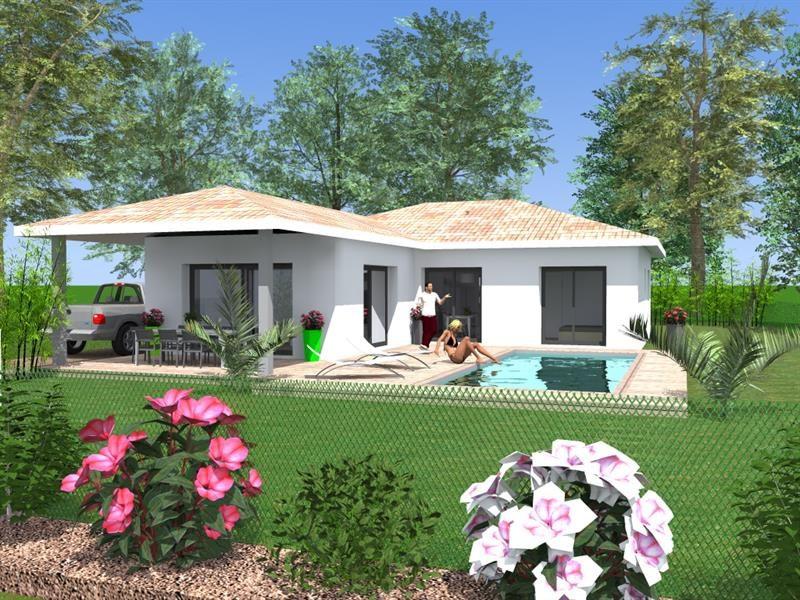 Maison  4 pièces + Terrain 772 m² Josse par LB CREATION