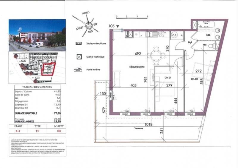Sale apartment Collioure 499000€ - Picture 3