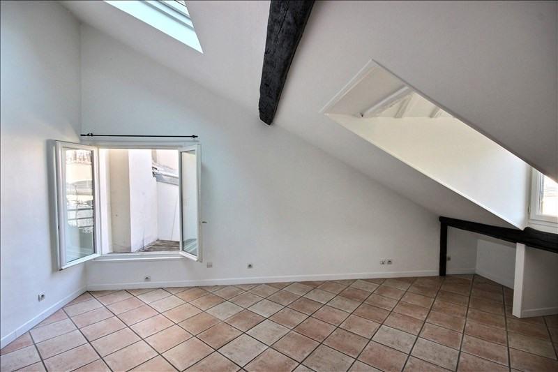 Verkoop  appartement Paris 3ème 528000€ - Foto 1
