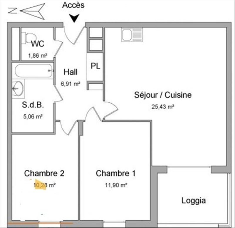 Location appartement Jassans riottier 729€ CC - Photo 7
