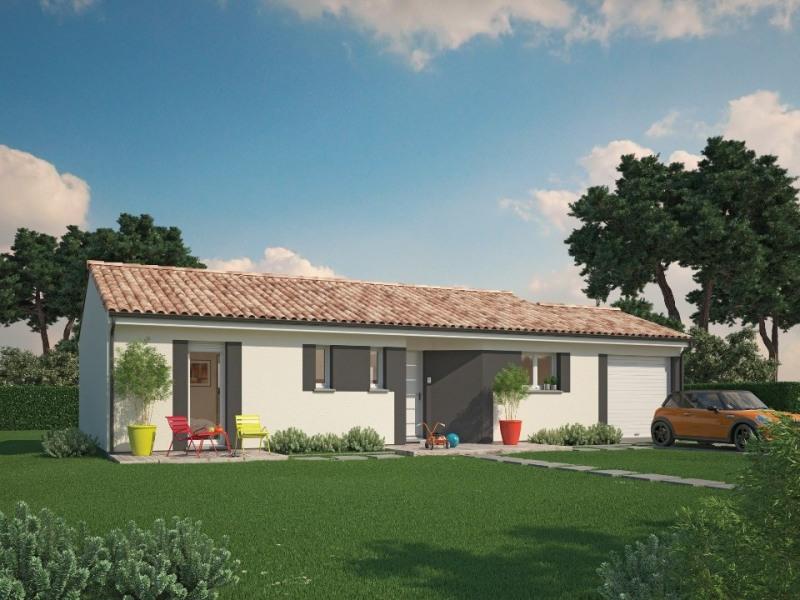 Maison  4 pièces + Terrain 1250 m² Coutras par MAISONS M.C.A. COUTRAS